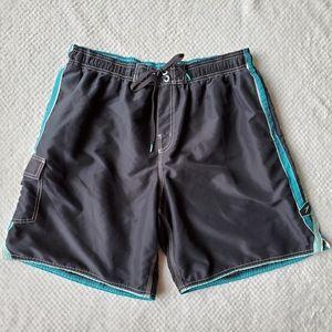 Speedo/ Blue Board Shorts/ Size XL